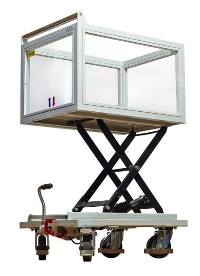 Picture of Hidraulična podizna kolica za prijevoz vrijednosti