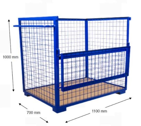 Picture of Kolica s ogradom, model BP-K4MP