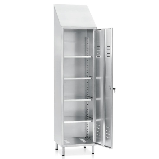 Picture of Inox ormar s policama 1795/2140x500x400mm, BP-17 INOX