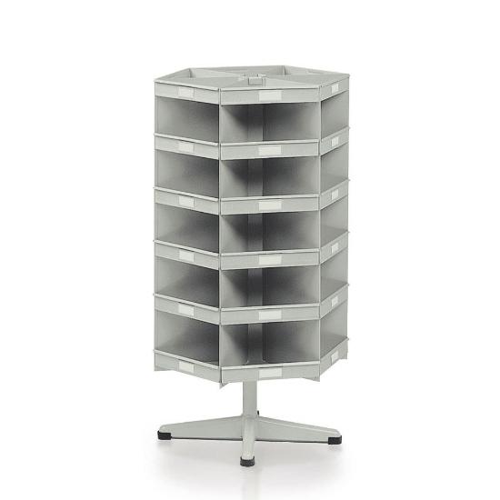 Picture of Rotirajući stalak, 30+6 kutija za vijke ili sitnu opremu, model BP-E211