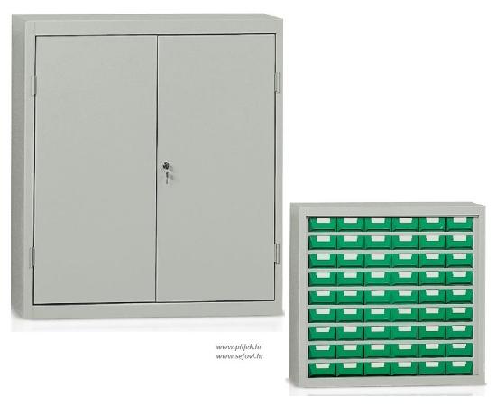 Picture of Metalni ormar s plastičnim kutijama za sitne dijelove BP-E224