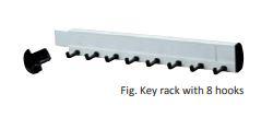 Nosač za ključeve [+93,75 kn]